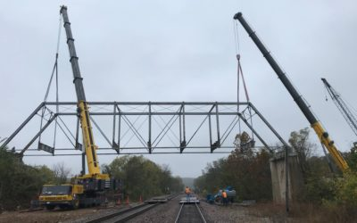 Thayer Missouri Bridge Replacement over BNSF Tracks